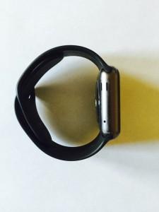 Side of Apple Watch