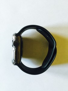 Side of Apple Watch