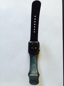 Back of Apple Watch