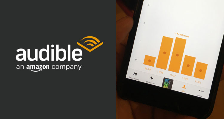 Audible is a membership-based audiobook service from Amazon.