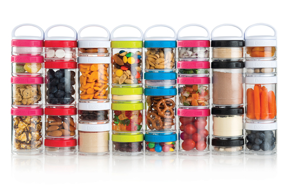 Blenderbottle GoStak Storage Jars