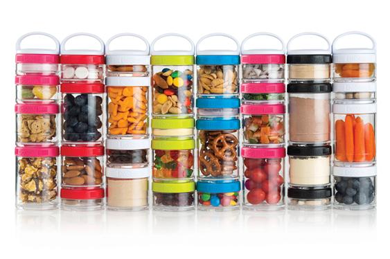 Blenderbottle GoStak Storage Jars