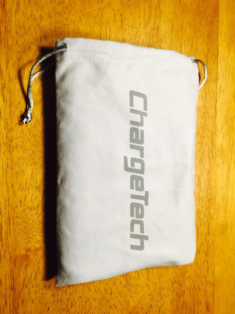 ChargeTech battery pack with protective bag