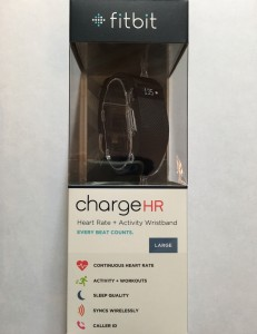 Fitbit Charge HR Box