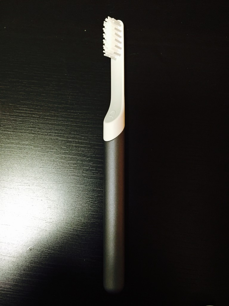 It is an admittedly sleek toothbrush