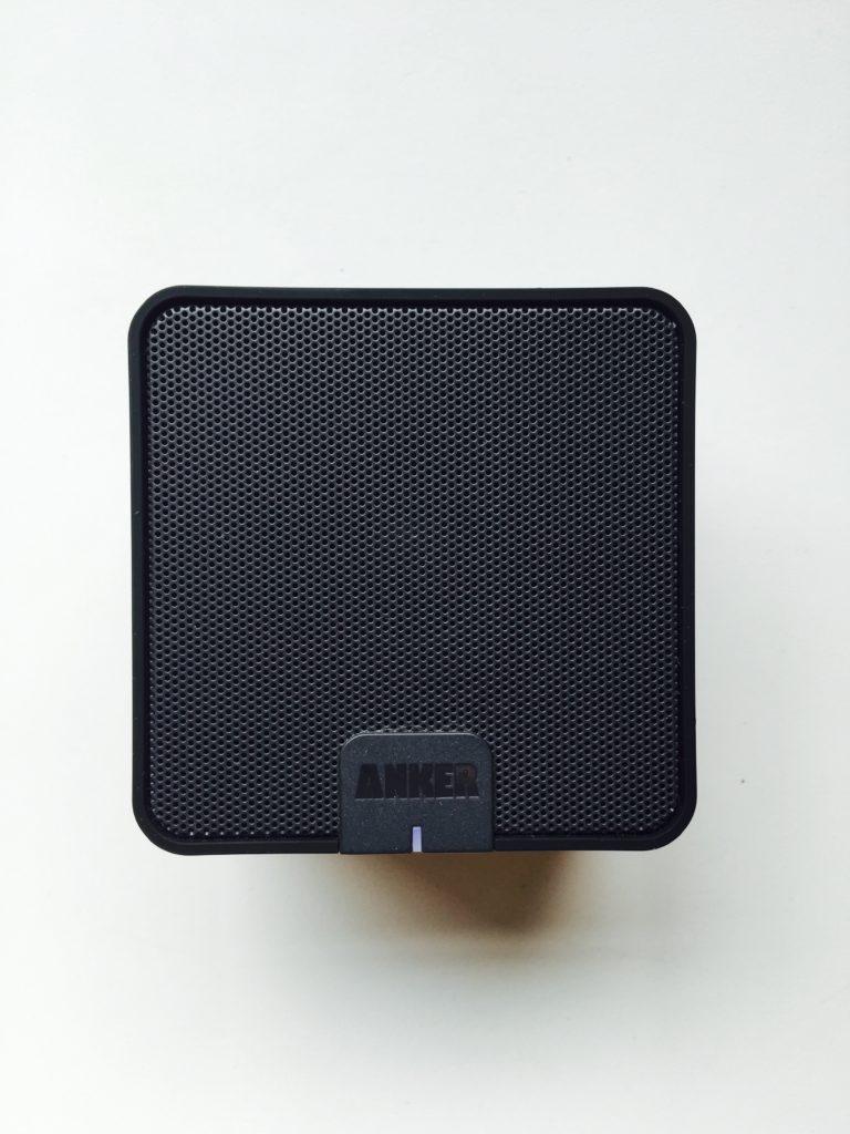Top of the speaker