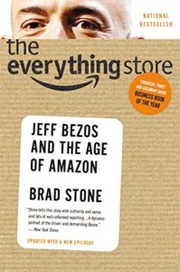 The Everything Store Amazon Book cover