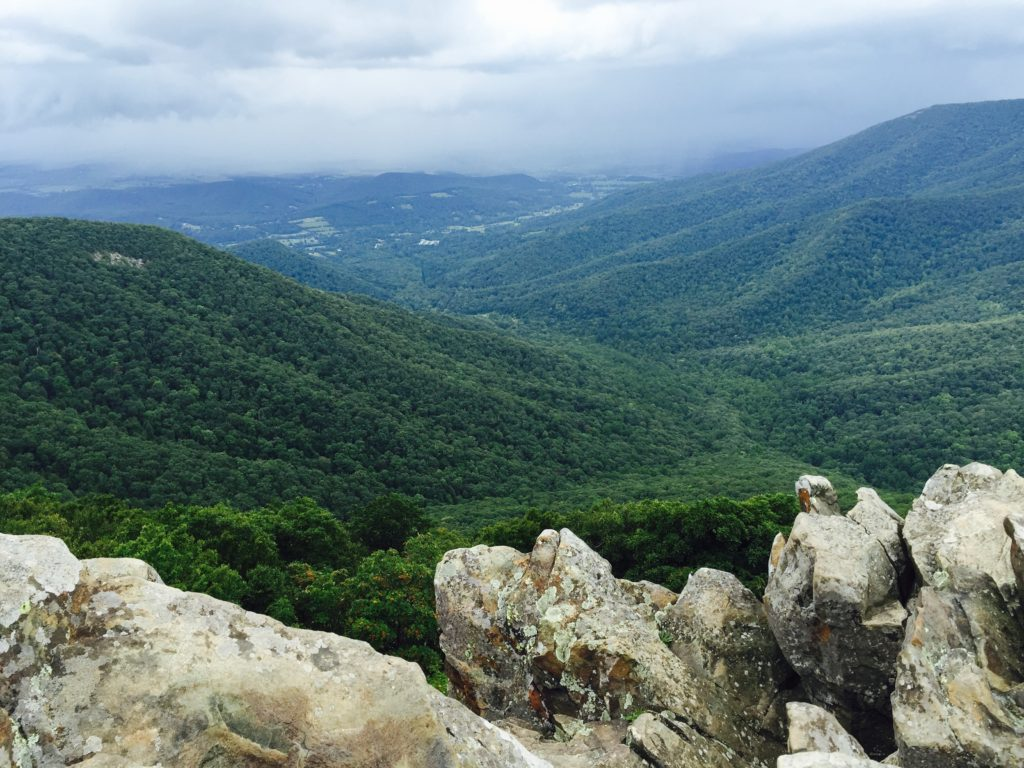 Shenandoah from Hawksbill Summit
