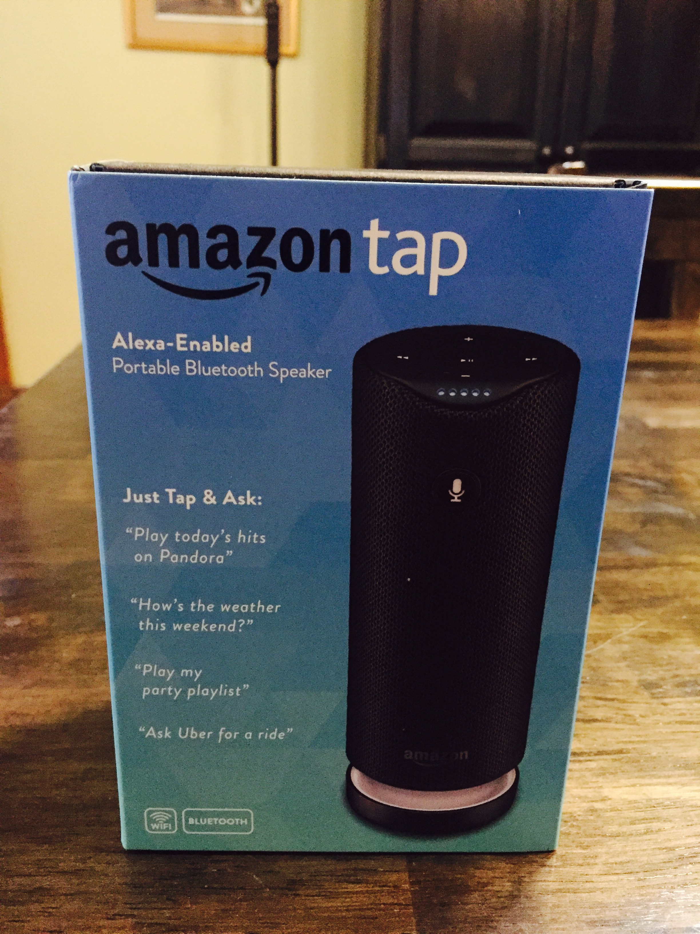 Music and Alexa on the Go: An Amazon Tap Review - Buys with Friends