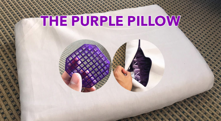 a review of the purple pillow after a month of sleep buys with friends