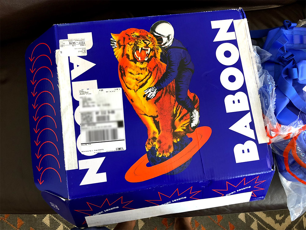 BABOON box design