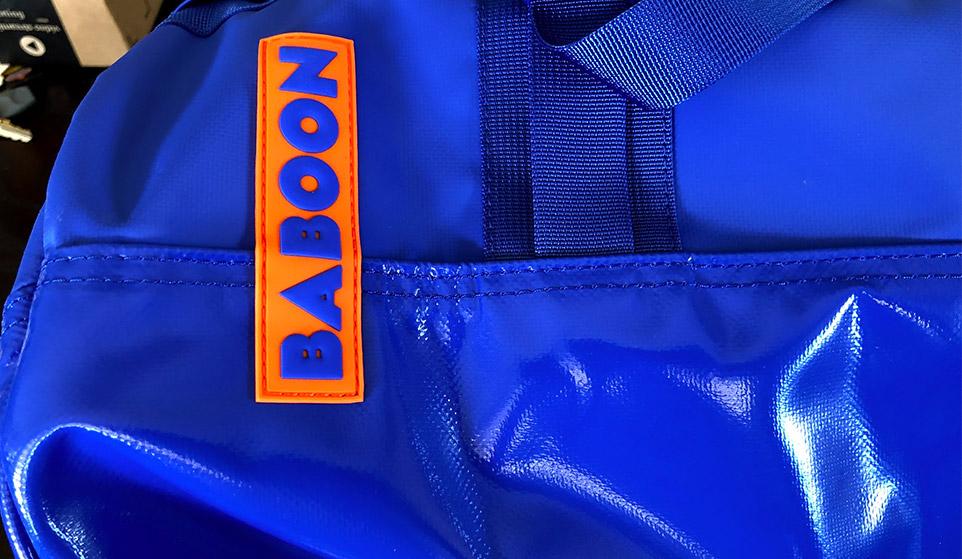 BABOON bag exterior